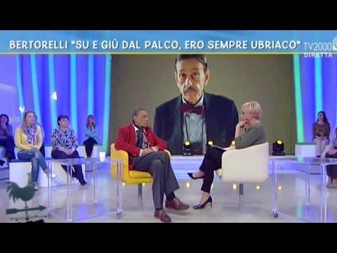 """Bertorelli: """"su e giù dal palco, ero sempre ubriaco"""""""