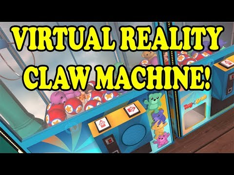 Cleaning out a Virtual Reality Claw Machine! How many plush wins will we get this time? TeamCC
