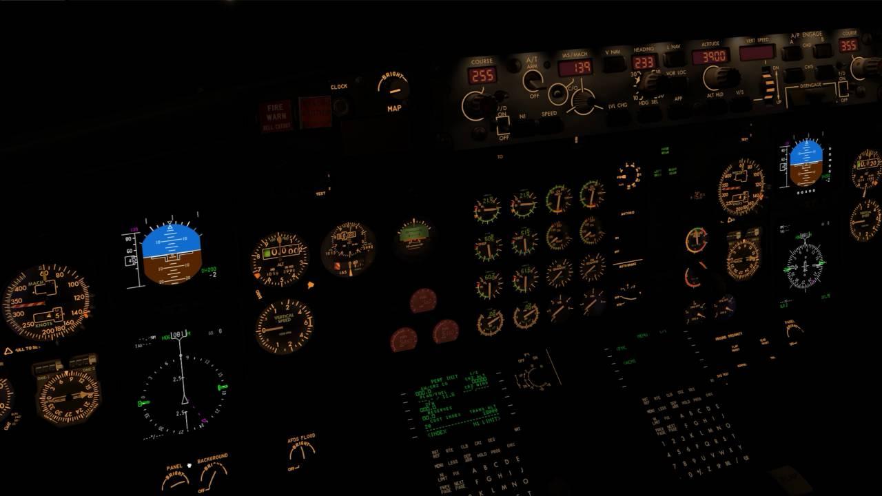 X-Plane10] IXEG 737-300 Cockpit Look Around Free Download Video MP4