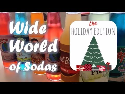 Wide World of Sodas - Holiday Edition
