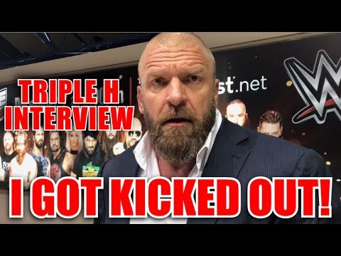 Triple H Interview   WWE Greatest Royal Rumble - Heckled The Tryout