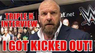Triple H Interview Gone Wrong Kicked Out WWE Greatest Royal Rumble Tryout