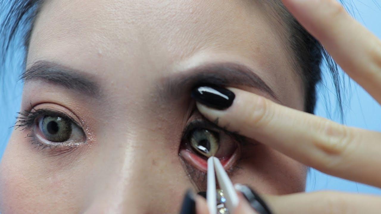 Hướng dẫn cách đeo & tháo kính áp tròng – Lens How To Wear & Remove Contact Lens
