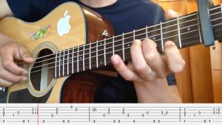 Hướng dẫn you are not alone guitar ( finger style )