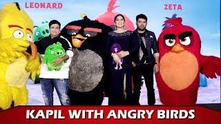 Kapil Sharma, Kiku Sharda & Archana Puran Singh At Angry Birds 2 Movie Promotional Event| Press Meet