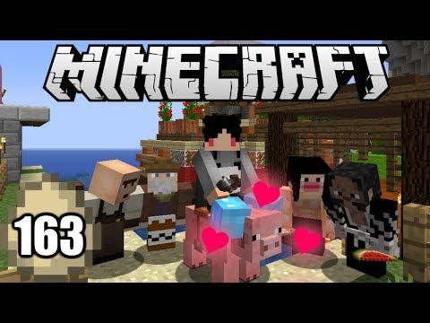 Minecraft Survival Indonesia - Surprise Rumah Baru Piggy! (163)