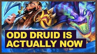 Odd Druid Is Actually Now | The Witchwood Hearthstone