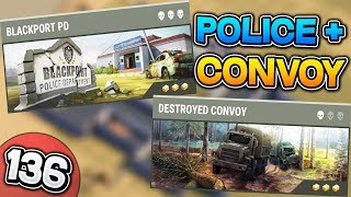Convoy, Police Station si Motel - Last Day on Earth [LIVE #136]