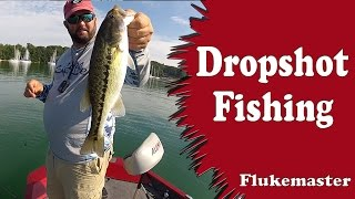 Dropshot Bass Fishing - Like Playing a Video Game