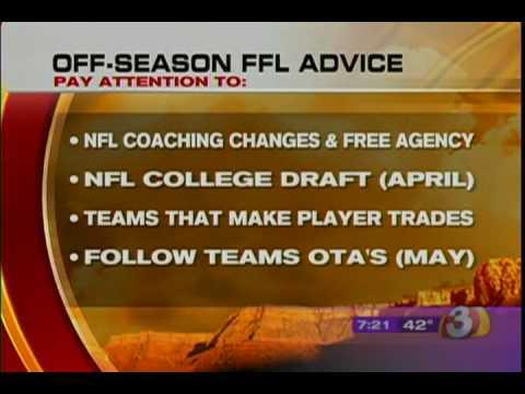 2009 Fantasy Football Advice