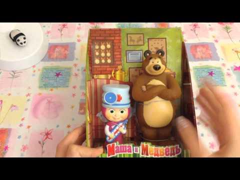 Видео, Обзор игрушки Маша и Медведь