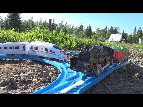 Видео про железную дорогу эта