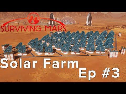 Surviving Mars: Building a Solar Farm! Episode 3