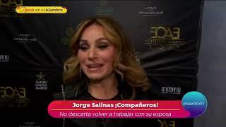 ¡Jorge Salinas piensa en regresar al teatro!   Sale el Sol
