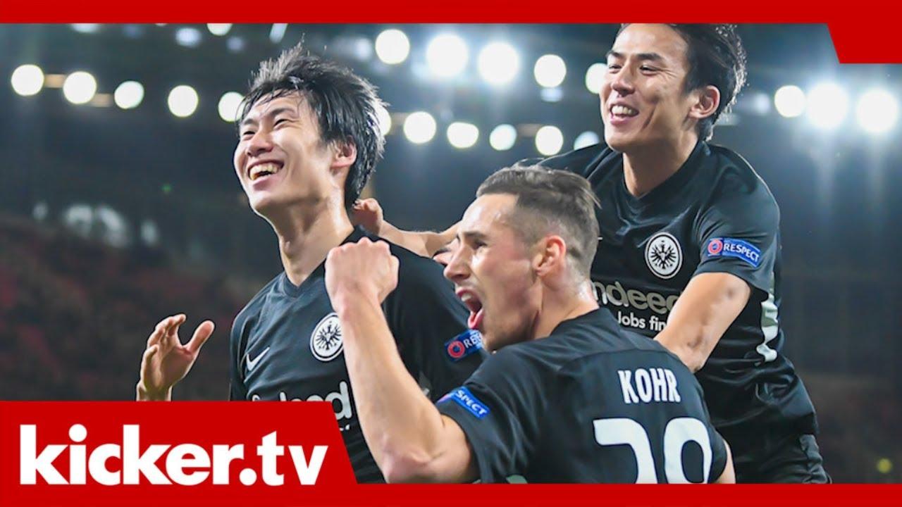Alle Haben Gelachelt Frankfurts Wichtiger Erfolg Beim Fc Arsenal Kicker Tv