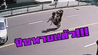 รวมอุบัติเหตุบนท้องถนน #5 (ขับขี่อย่างมีสตินะครับ)