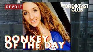 Jasmine Barkley | Donkey of the Day