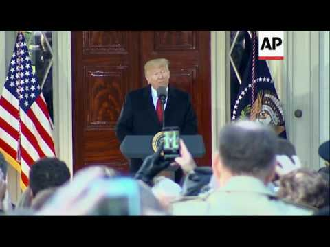 Trump Honors Andrew Jackson in Tennessee
