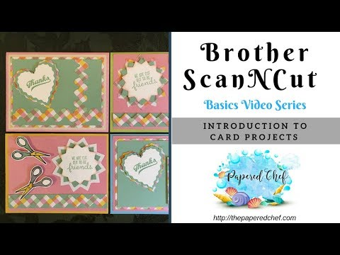 Brother ScanNCut Basics Series Introduction