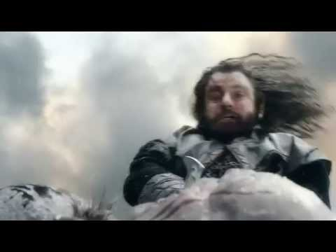 The Hobbit: BOTFA Extended Edition - Dwalin trying to save Thorin from death