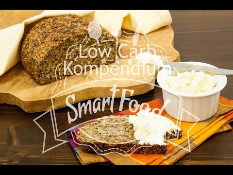Brot mit Knusperkruste – vegan & glutenfrei (Low Carb Rezept)
