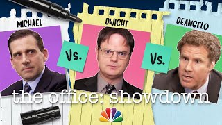 Michael vs. Dwight vs. Deangelo - The Office