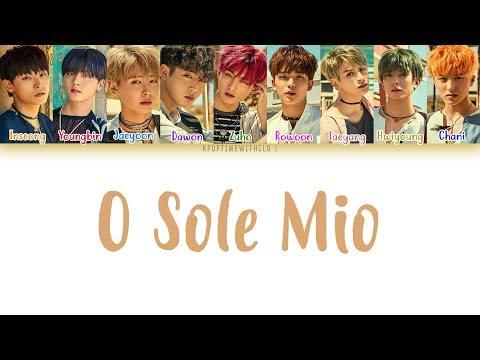 SF9 (에스에프나인) – O Sole Mio (오솔레미오) LYRICS [COLOR CODED HAN|ROM|ENG]
