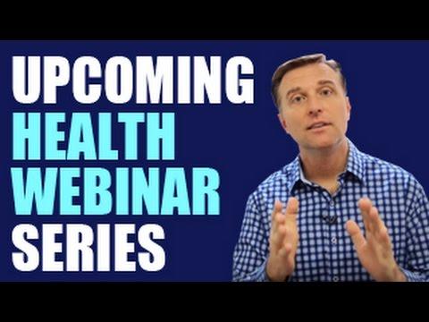 Dr. Berg's Upcoming Health Webinar Series