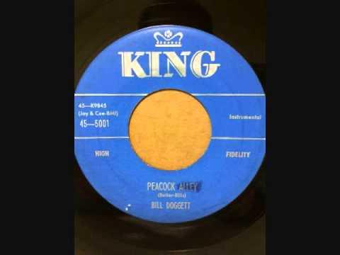 BILL DOGGETT  - HONKY TONK VOCAL - PEACOCK ALLEY
