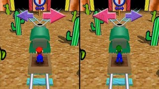 Mario Party 3 - All Duel and Battle Minigames