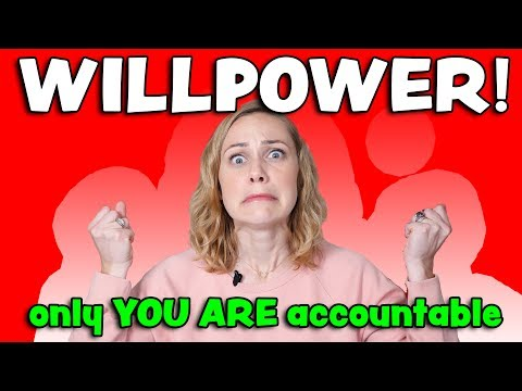 WILLPOWER & Depression: How to get & stay motivated!