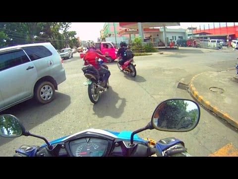 TACLOBAN CiTY BEFORE TYPHOON Yolanda Haiyan, Philippines. FULL ROAD STREET VIEW Travel Video