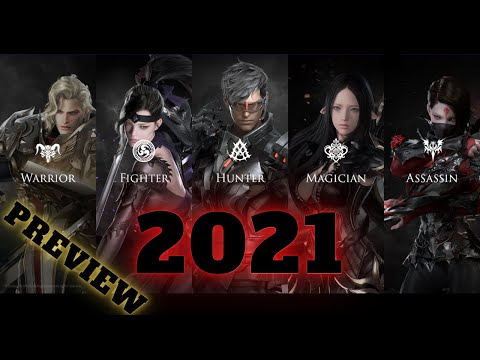LOST ARK ALL CLASSES PREVIEW 2021 | 18 CLASSES