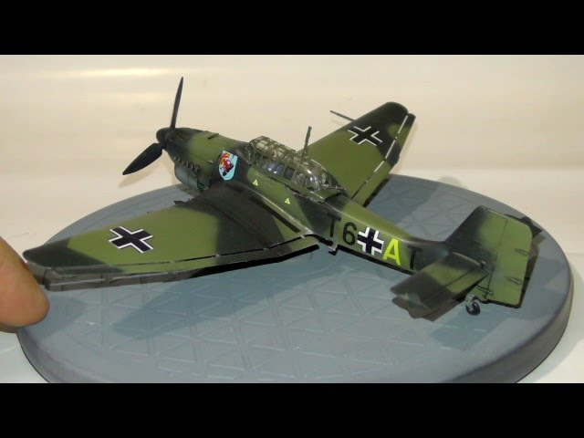 Обзор готовой модели Junkers Ju-87B2 - Звезда 1:72