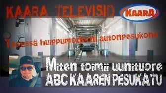 Testissä Suomen modernein auton pesukatu: ABC Kaari Helsinki