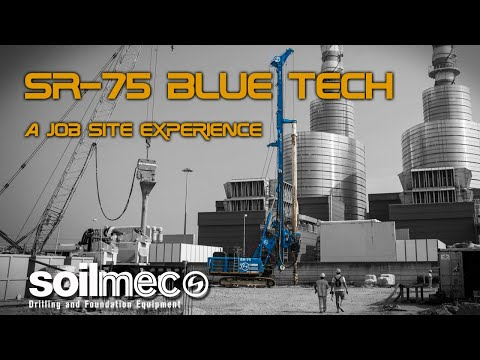 SR-75 Blue Tech. A job site experience.