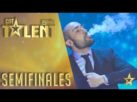 Iván Ojeda derrocha talento y magia   Semifinales 2   Got Talent España 2016