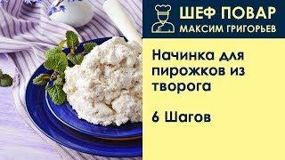 Начинка для пирожков из творога . Рецепт от шеф повара Максима Григорьева