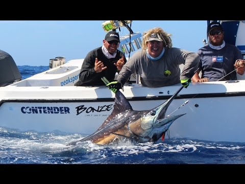 Peak Sportfishing 2015 Blue Marlin Heavy Tackle Season