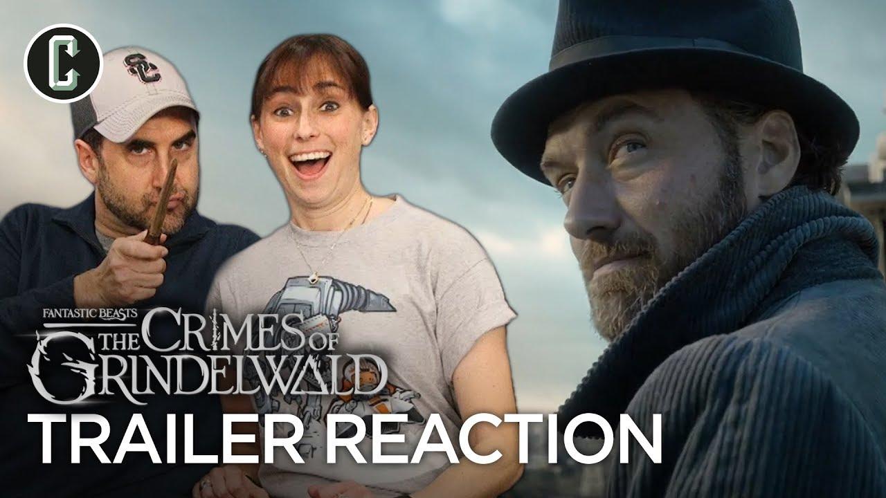 Fantastic Beasts The Crimes Of Grindelwald Teaser Trailer Reaction Review