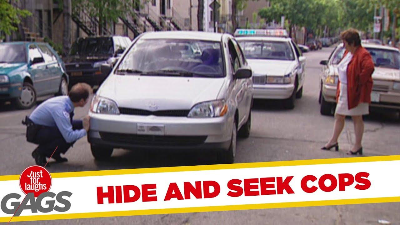 Hide and seek cop