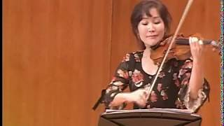MIN JUNG PARK violinist CHILDREN'S CONCERT KUMHO ART HALL KOREA