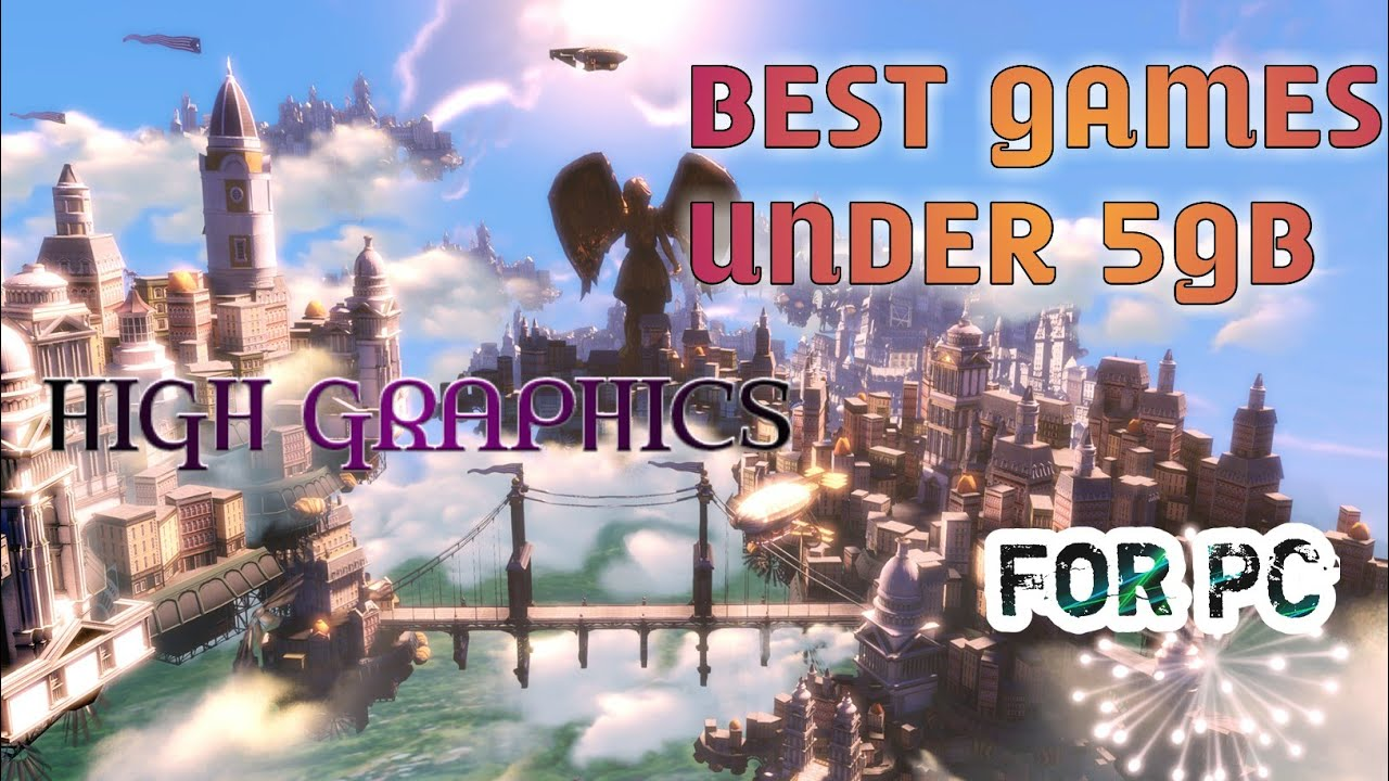 Download Top 8 best and high graphic games under 5gb(size) for low end PC