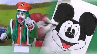 Aprenda como desenhar o Mickey (FAZENDO ARTE)