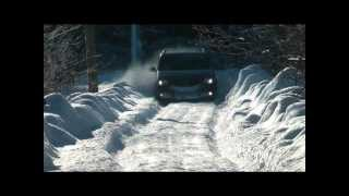 Vw Cross Touran 2,0tdi DSG 4motion Преодоление снежной преграды