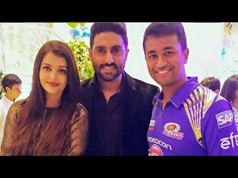 Aishwarya & Abhishek @ Ambani's Party For 'Mumbai Indians' | IPL 2015