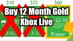 Why You Should Buy 12-Month Xbox Live Membership