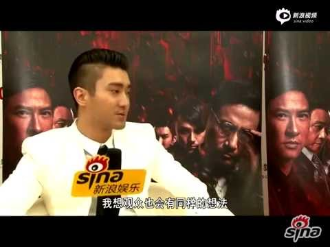 150428 Sina Interview Choi Siwon 2/2 (speaking in KOR)
