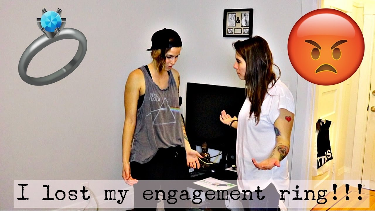 Lost My Engagement Ring Prank!! On Fiance & Her Mom