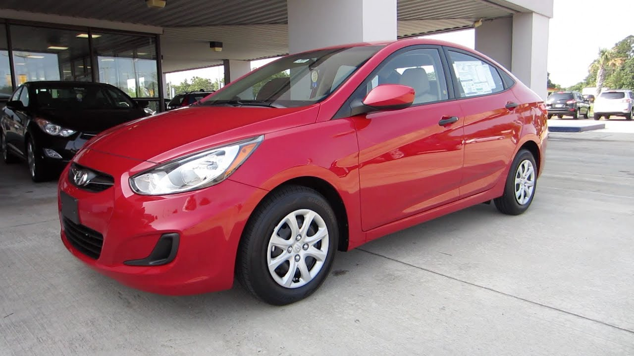 2012 Hyundai Accent Gls Start Up Engine And In Depth